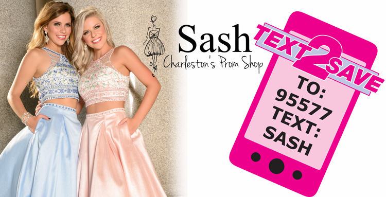 Sash Prom Charleston's Prom Shop!